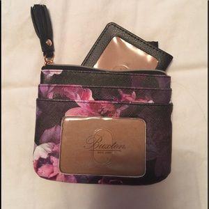 Buxton Purple Floral Wallet